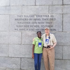 Amber Burney's Honor Flight Experience